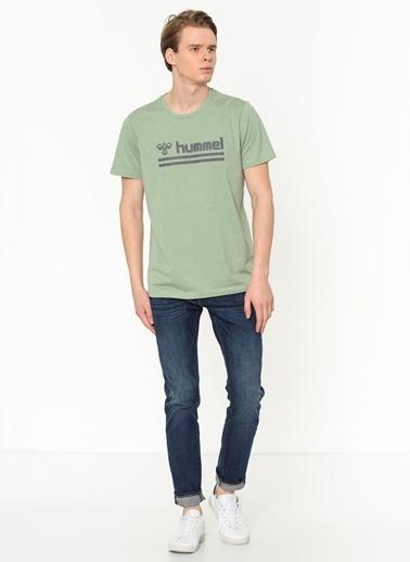 Hummel Erkek Tişört Shango 911031-6464 Yeşil